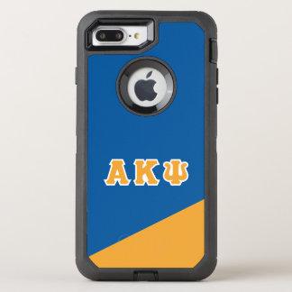 Alpha Kappa Psi | Greek Letters OtterBox Defender iPhone 8 Plus/7 Plus Case