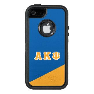 Alpha Kappa Psi   Greek Letters OtterBox Defender iPhone Case