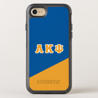 Alpha Kappa Psi | Greek Letters OtterBox Symmetry iPhone 7 Case