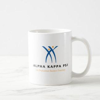 Alpha Kappa Psi Name and Logo Coffee Mug