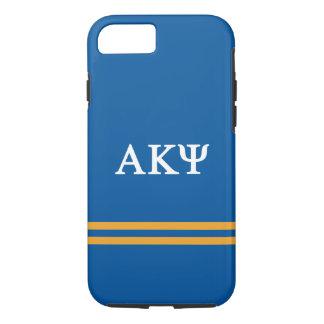 Alpha Kappa Psi   Sport Stripe iPhone 8/7 Case