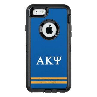 Alpha Kappa Psi   Sport Stripe OtterBox Defender iPhone Case