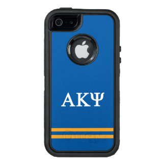 Alpha Kappa Psi | Sport Stripe OtterBox iPhone 5/5s/SE Case