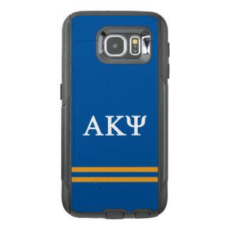 Alpha Kappa Psi | Sport Stripe OtterBox Samsung Galaxy S6 Case