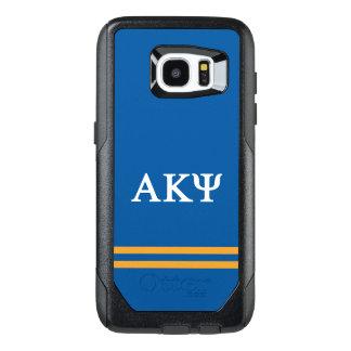 Alpha Kappa Psi | Sport Stripe OtterBox Samsung Galaxy S7 Edge Case
