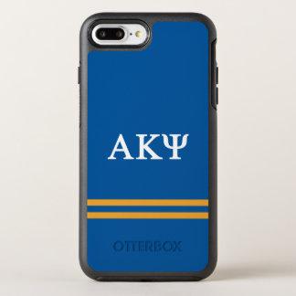Alpha Kappa Psi | Sport Stripe OtterBox Symmetry iPhone 8 Plus/7 Plus Case