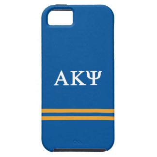 Alpha Kappa Psi | Sport Stripe Tough iPhone 5 Case
