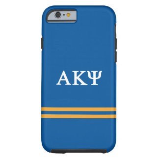 Alpha Kappa Psi | Sport Stripe Tough iPhone 6 Case