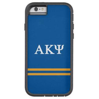 Alpha Kappa Psi   Sport Stripe Tough Xtreme iPhone 6 Case
