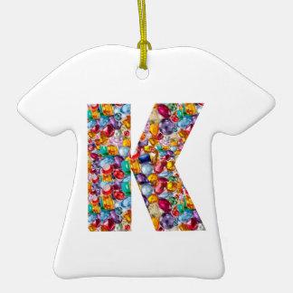 Alpha kay ppp Fashion Clothing Gifts Jewel k p fun Christmas Tree Ornament