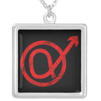 Alpha Male Sign Pendant