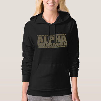 ALPHA MORMON - Church of Latter-day Saints, Gold Hoodie