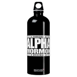 ALPHA MORMON - Church of Latter-day Saints, White SIGG Traveller 1.0L Water Bottle