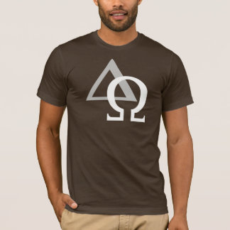 Alpha & Omega 3 White Gray TRANS png T-Shirt
