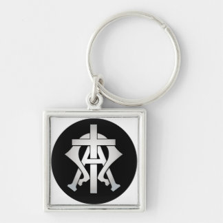 Alpha & Omega Key Ring