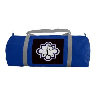 Alpha Omega Monogram gymbag Gym Duffel Bag