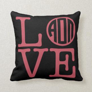 Alpha Omicron Pi Love Cushion