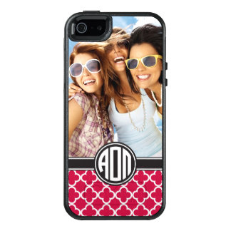 Alpha Omicron Pi | Monogram and Photo OtterBox iPhone 5/5s/SE Case