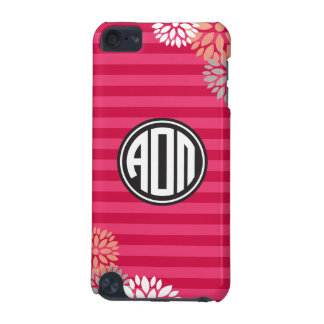 Alpha Omicron Pi | Monogram Stripe Pattern iPod Touch (5th Generation) Cover