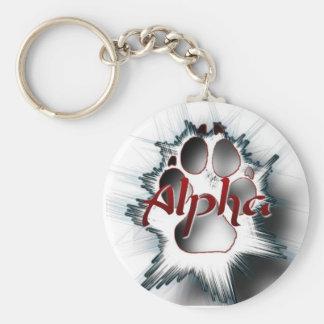 Alpha Paw Key Ring