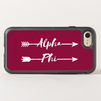 Alpha Phi | Arrows OtterBox Symmetry iPhone 8/7 Case