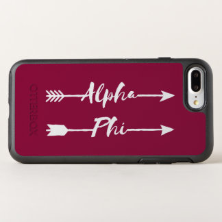 Alpha Phi | Arrows OtterBox Symmetry iPhone 8 Plus/7 Plus Case