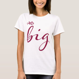 Alpha Phi | Big Script T-Shirt