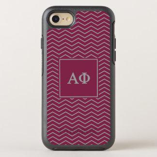 Alpha Phi | Chevron Pattern OtterBox Symmetry iPhone 7 Case