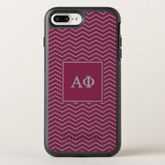 Alpha Phi | Chevron Pattern OtterBox Symmetry iPhone 7 Plus Case