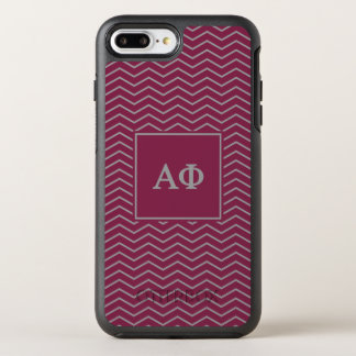 Alpha Phi | Chevron Pattern OtterBox Symmetry iPhone 8 Plus/7 Plus Case