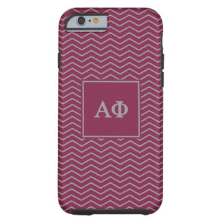 Alpha Phi | Chevron Pattern Tough iPhone 6 Case