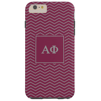 Alpha Phi | Chevron Pattern Tough iPhone 6 Plus Case