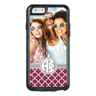 Alpha Phi | Monogram and Photo OtterBox iPhone 6/6s Case