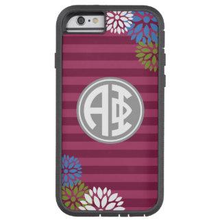 Alpha Phi | Monogram Stripe Pattern Tough Xtreme iPhone 6 Case