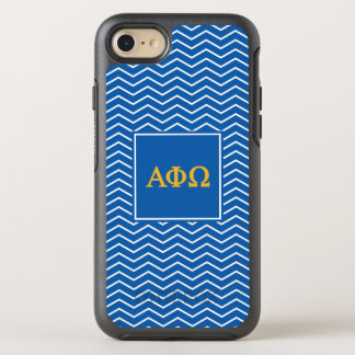 Alpha Phi Omega | Chevron Pattern OtterBox Symmetry iPhone 8/7 Case