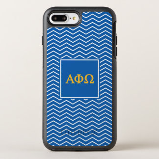 Alpha Phi Omega | Chevron Pattern OtterBox Symmetry iPhone 8 Plus/7 Plus Case