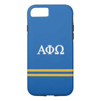 Alpha Phi Omega | Sport Stripe iPhone 8/7 Case