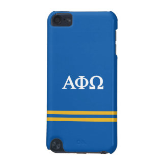 Alpha Phi Omega   Sport Stripe iPod Touch (5th Generation) Case