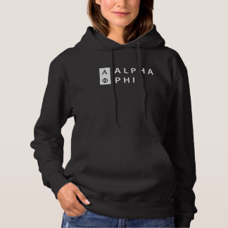 Alpha Phi | Stacked Hoodie
