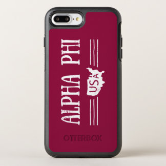 Alpha Phi USA OtterBox Symmetry iPhone 8 Plus/7 Plus Case