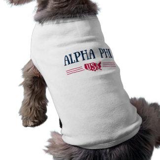 Alpha Phi USA Shirt