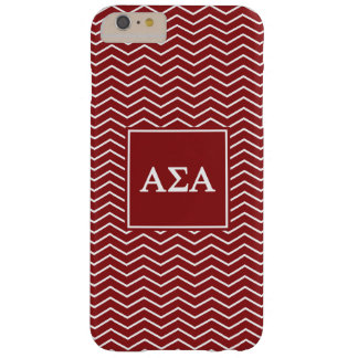 Alpha Sigma Alpha | Chevron Pattern Barely There iPhone 6 Plus Case