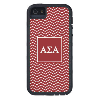 Alpha Sigma Alpha | Chevron Pattern iPhone 5 Covers