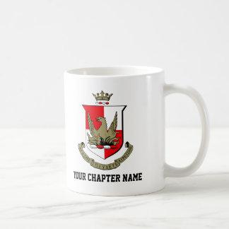 Alpha Sigma Alpha Crest Coffee Mug