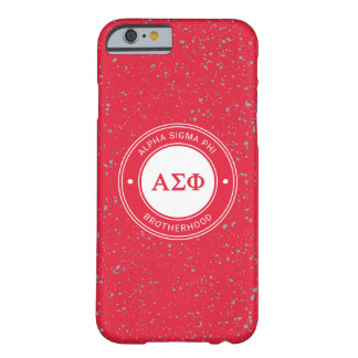 Alpha Sigma Phi | Badge Barely There iPhone 6 Case