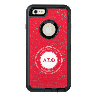 Alpha Sigma Phi   Badge OtterBox Defender iPhone Case