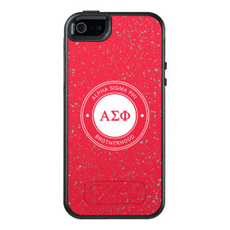 Alpha Sigma Phi | Badge OtterBox iPhone 5/5s/SE Case