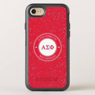 Alpha Sigma Phi | Badge OtterBox Symmetry iPhone 8/7 Case