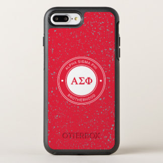 Alpha Sigma Phi | Badge OtterBox Symmetry iPhone 8 Plus/7 Plus Case