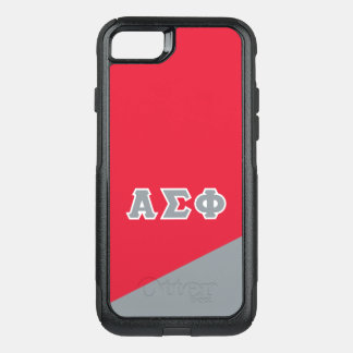 Alpha Sigma Phi | Greek Letters OtterBox Commuter iPhone 8/7 Case